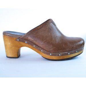 Ugg wooden clogs